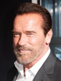 Arnold Schwarzenegger pour la première de Escape Plan